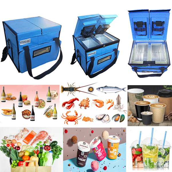 double compartment food storage box