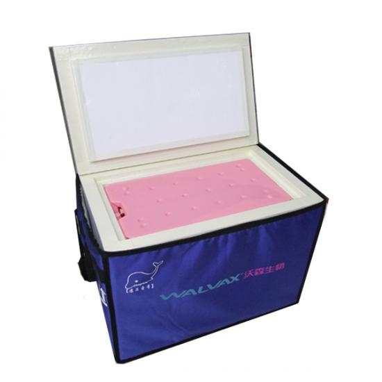 Big capacity cooler box