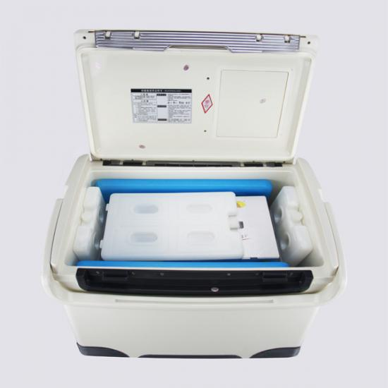 medical transportation box for laboratory testing